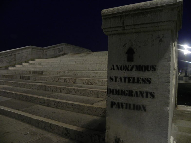 'Anonymous Stateless Immigrants Pavilion' at Venice Biennale