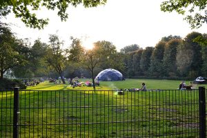 'Cinedome' Geodesic dome for collaborative cultural events
