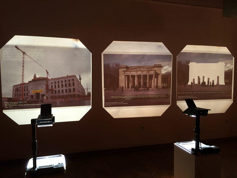 'Refugee Monument Berlin' at Maxim Gorki Theater